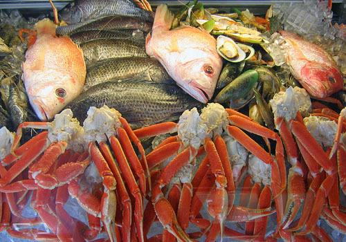 "Off The Hook Seafood Market - ""We'll Hook You Up And Get You Stuffed"""
